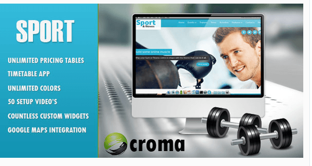 10 WordPress Themes For Gym and Fitness Website