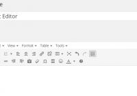 TinyMCE Editor feature image