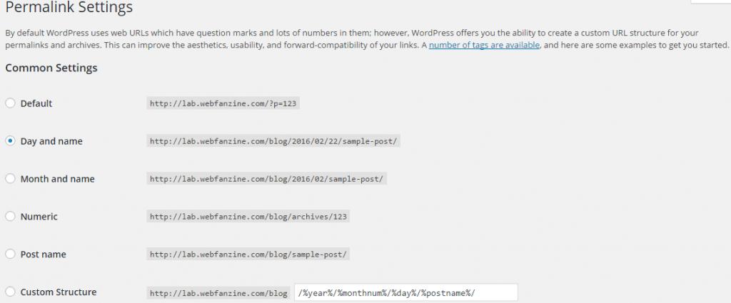WP REST API - Permalinks